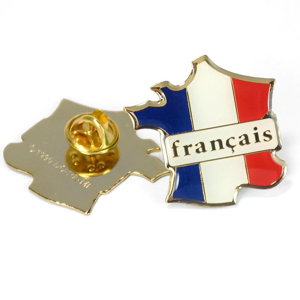 Français Country Enhanced® Pin