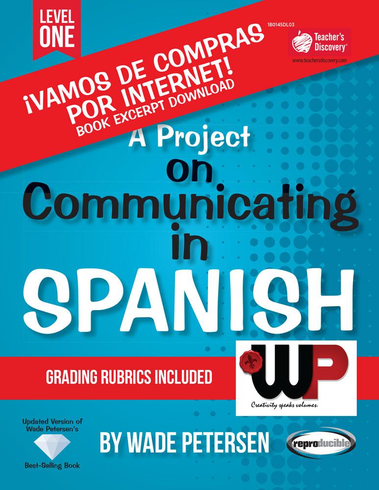 A Project on Communicating in Spanish: ¡Vamos de compras por Internet! Book Excerpt Download