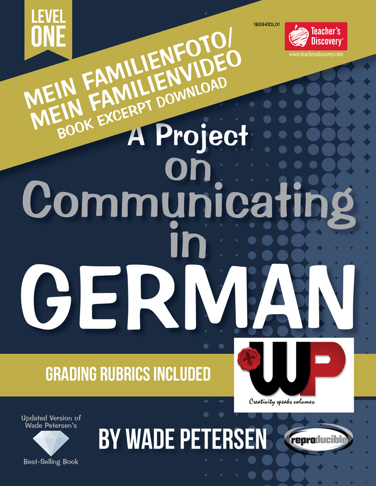A Project on Communicating in German: Mein Familienfoto/video Book Excerpt Download
