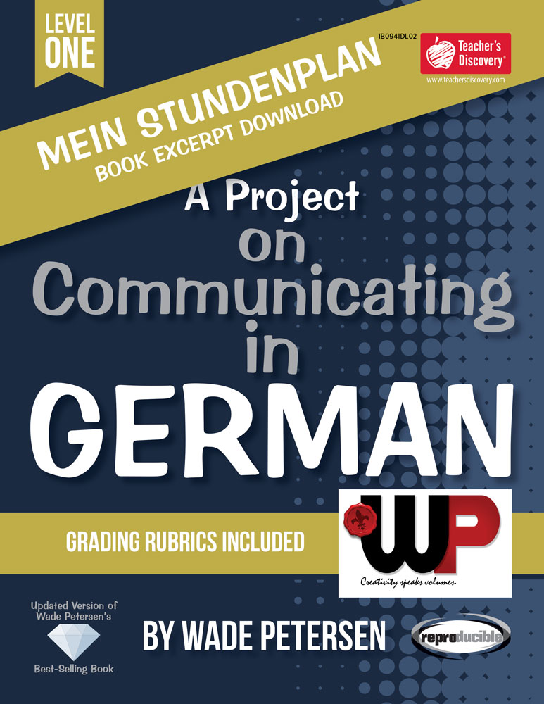 A Project on Communicating in German: Mein Stundenplan Book Excerpt Download