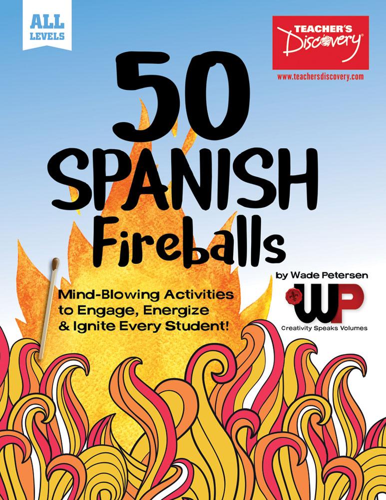 50 Spanish Fireballs: Mind-Blowing Activities Book