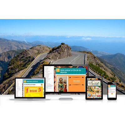 Voces® Spanish Intermediate Digital Resource Subscription