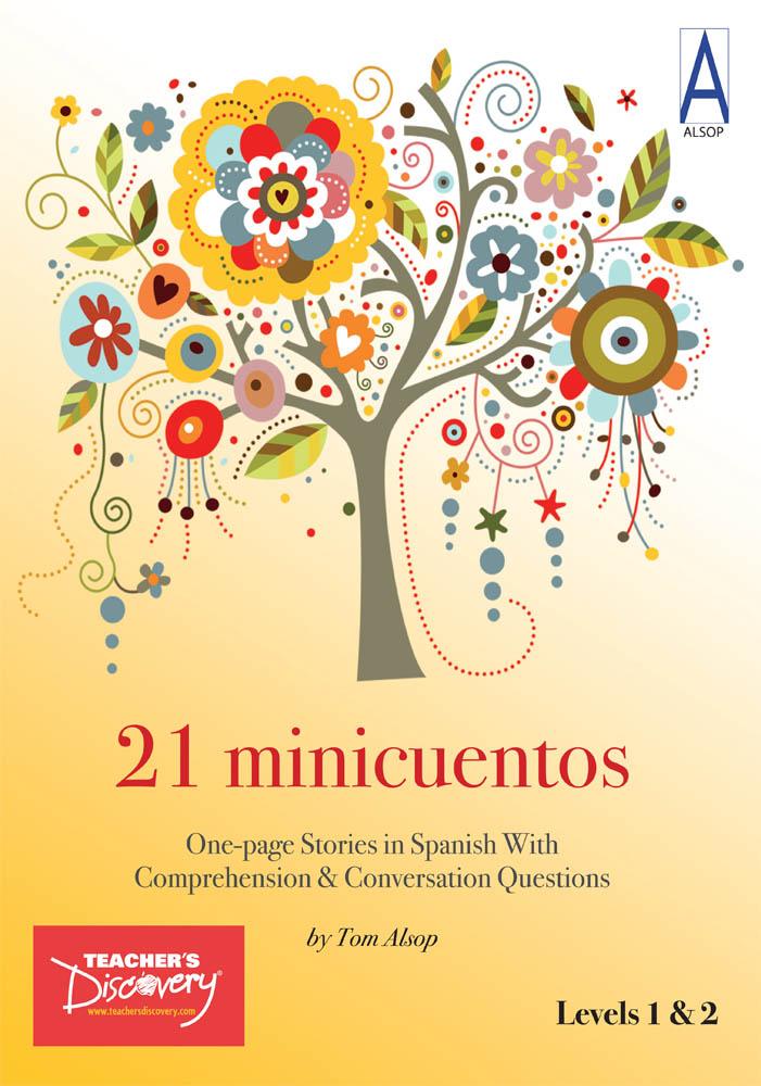 21 minicuentos Spanish Level 1 Student Reader