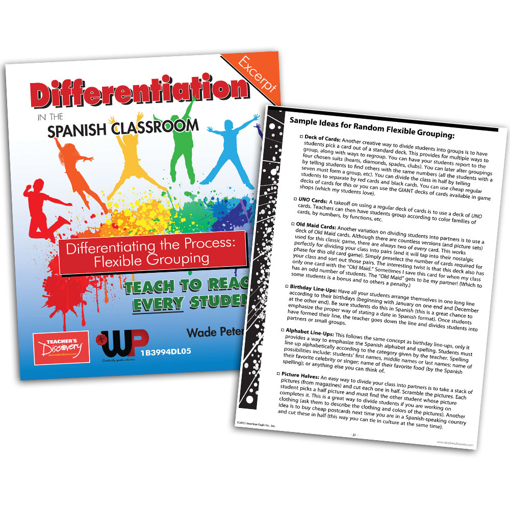 Differentiating the Process: Flexible Grouping - Book Excerpt Download