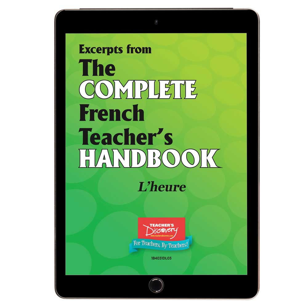 L'heure - French - Book Excerpt Download