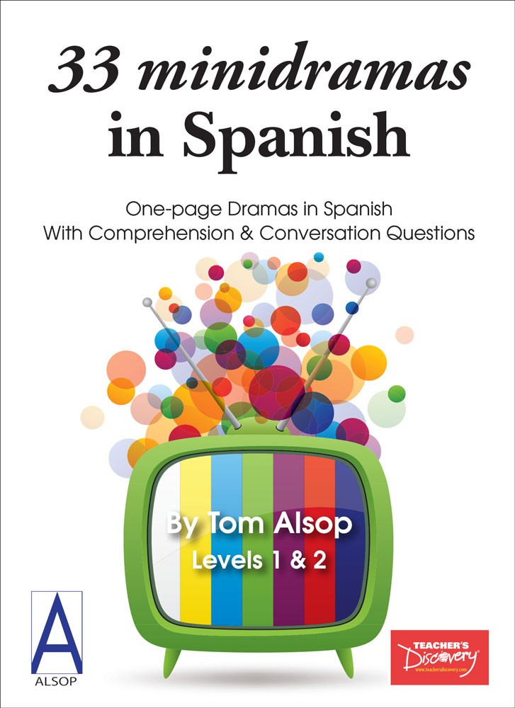 33 minidramas in Spanish Level 1 Student Reader