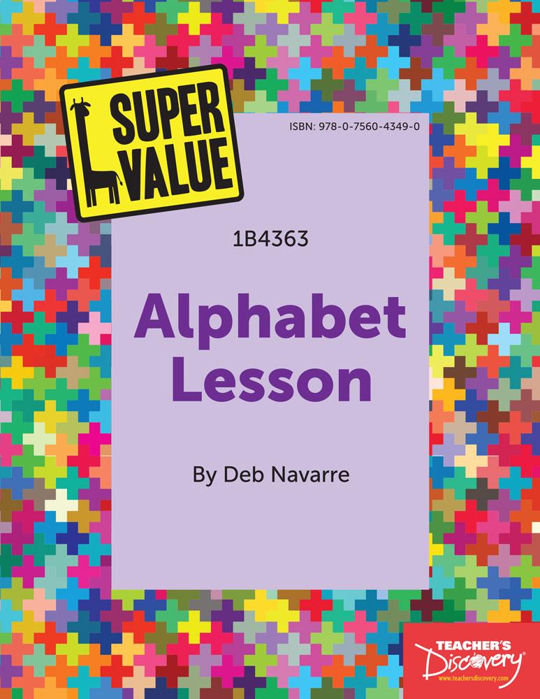 Super Value Alphabet Lesson Spanish