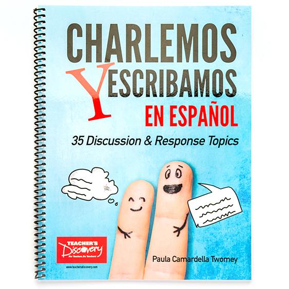Charlemos y escribamos en español Book
