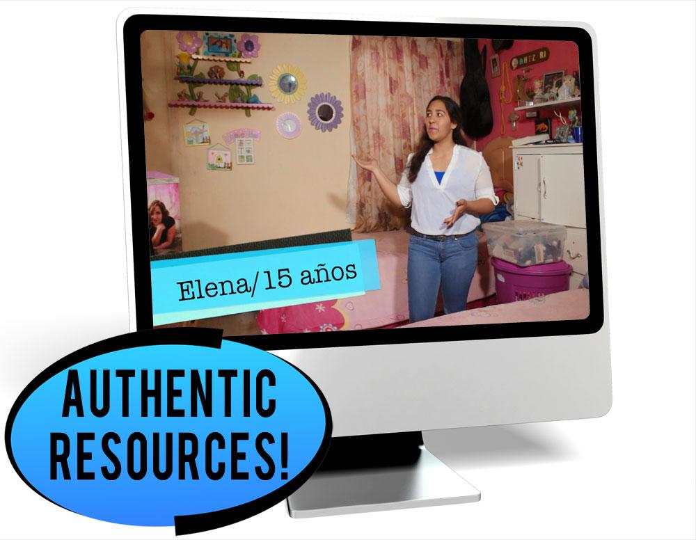 Elena Casa Intermediate-Low Spanish IPA Pack - DIGITAL RESOURCE DOWNLOAD