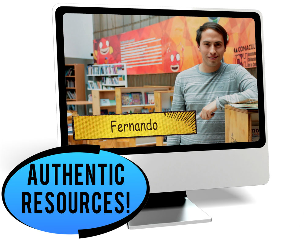 Fernando Pastimes Intermediate-Mid Spanish IPA Pack - DIGITAL RESOURCE DOWNLOAD  - Hybrid Learning Resource