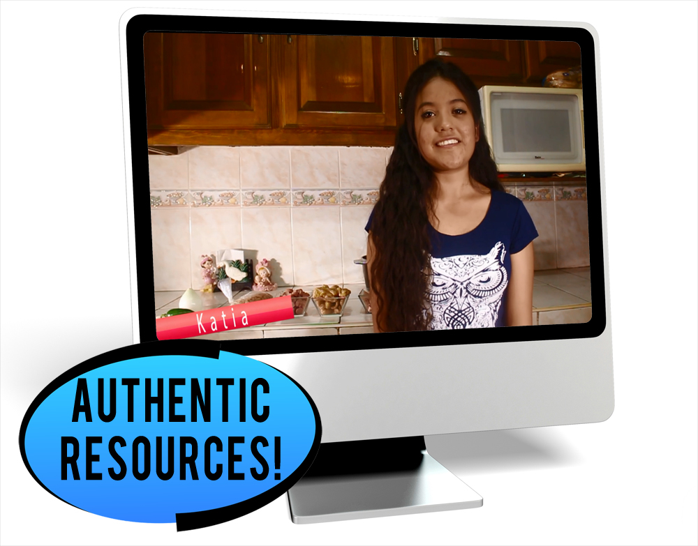 Katia Cocina Novice-Mid Spanish IPA Pack - DIGITAL RESOURCE DOWNLOAD