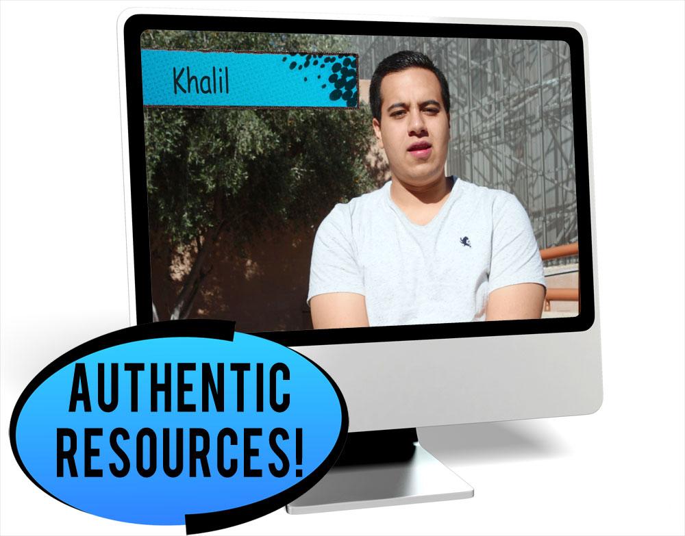 Khalil City Novice-Mid Spanish IPA Pack - DIGITAL RESOURCE DOWNLOAD