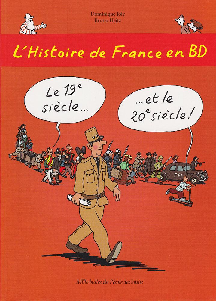 L'Histoire de France en BD Volume 6 French Level 2 Graphic Novel