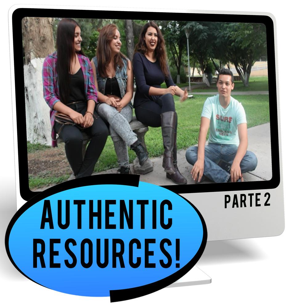 Bachelor's School Part 2 Intermediate-Low Spanish IPA Pack - DIGITAL RESOURCE DOWNLOAD  - Hybrid Learning Resource