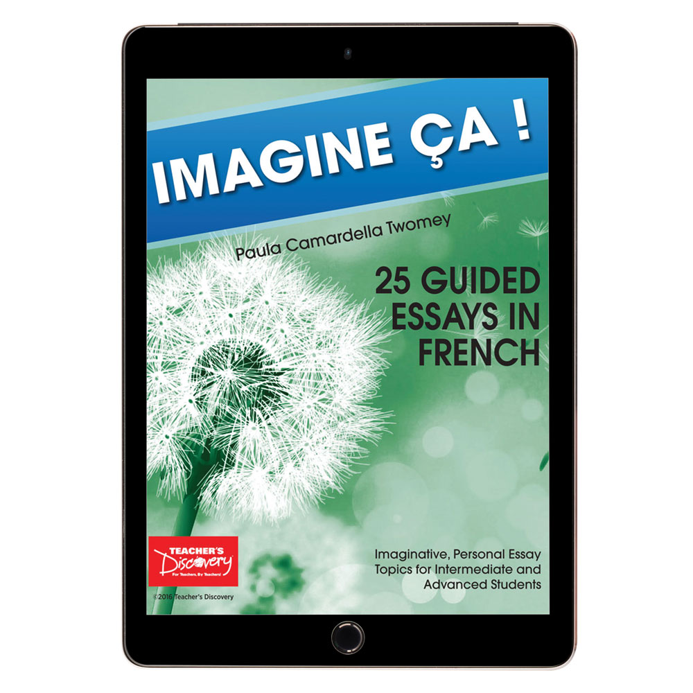 Imagine ça ! 25 Guided Essays in French Book