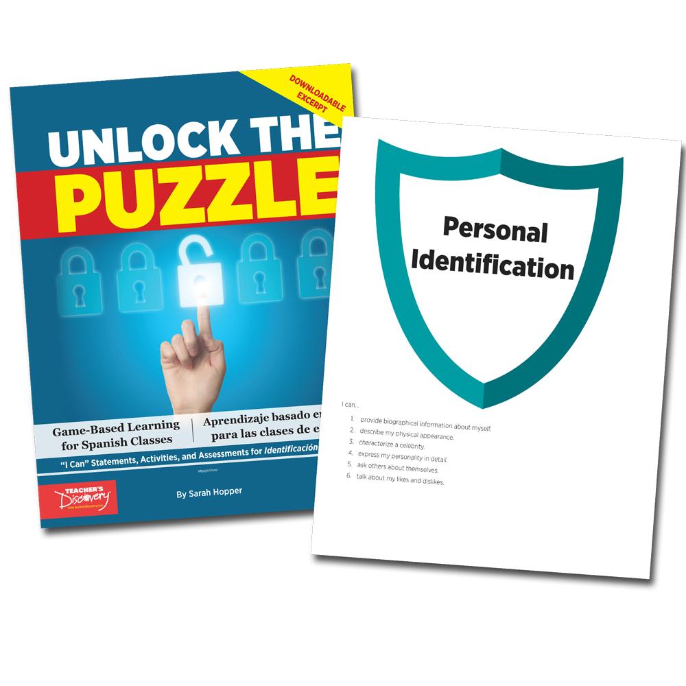 Unlock the Puzzle: Identificación personal - Book Excerpt Download
