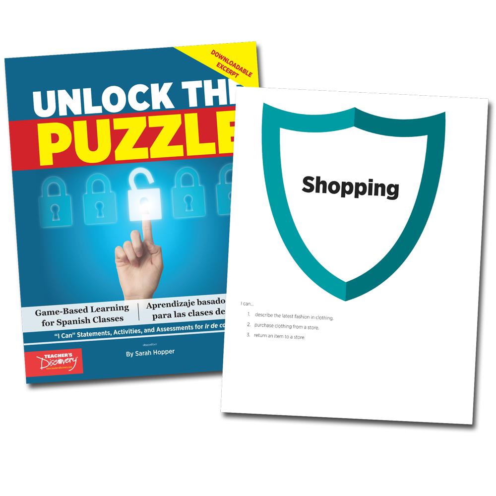 Unlock the Puzzle: Ir de compras - Book Excerpt Download