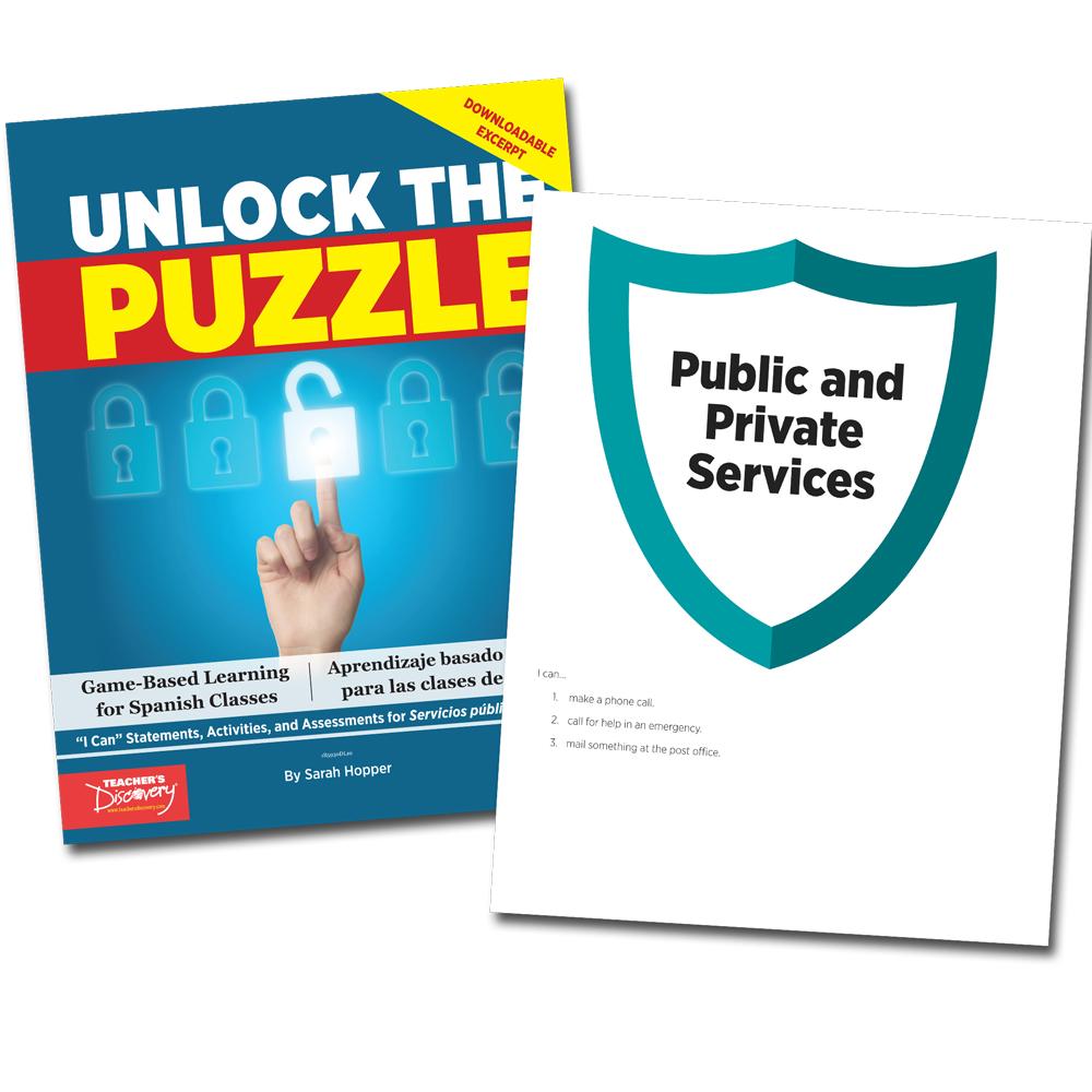 Unlock the Puzzle: Servicios públicos y privados - Book Excerpt Download