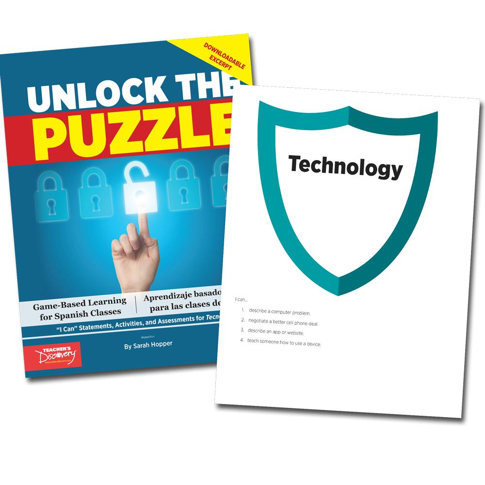 Unlock the Puzzle: Tecnología - Book Excerpt Download