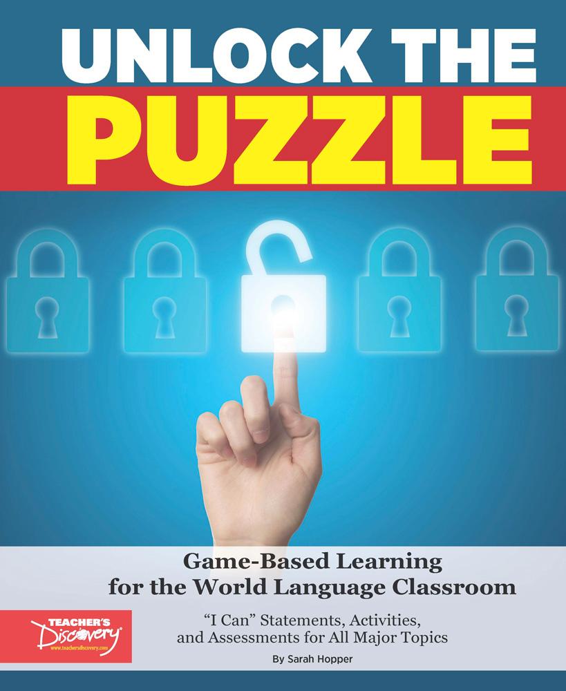 Unlock the Puzzle Spanish Book