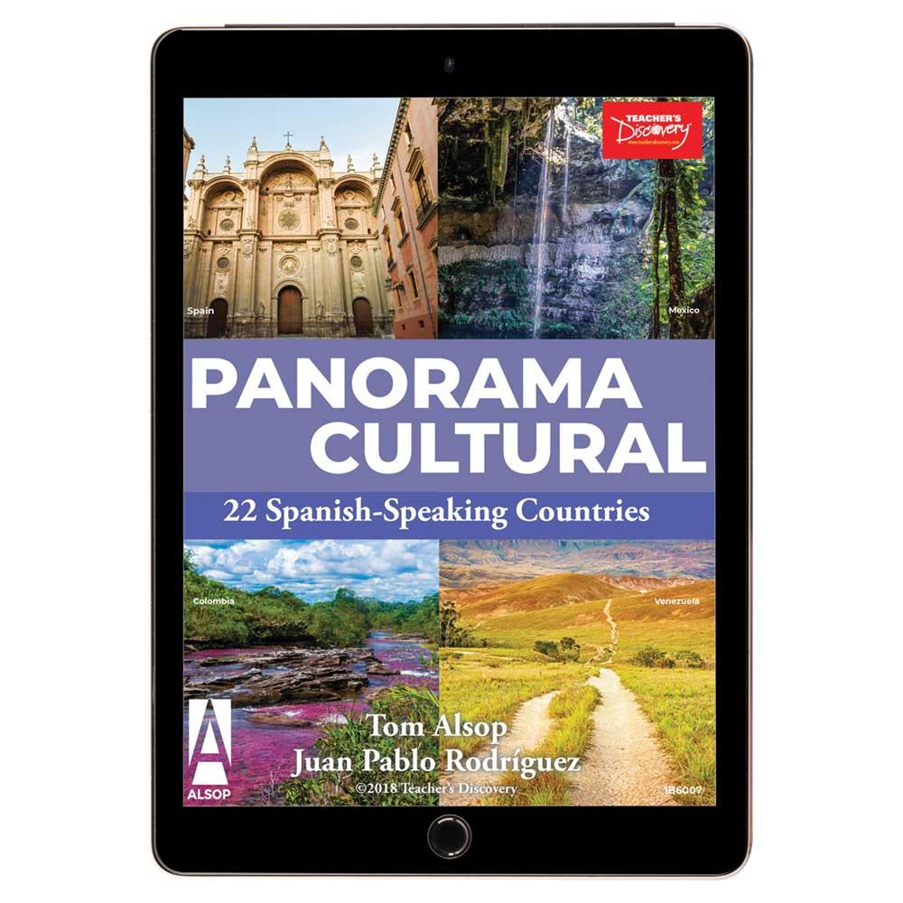 Panorama cultural: 22 Spanish-Speaking Countries Book