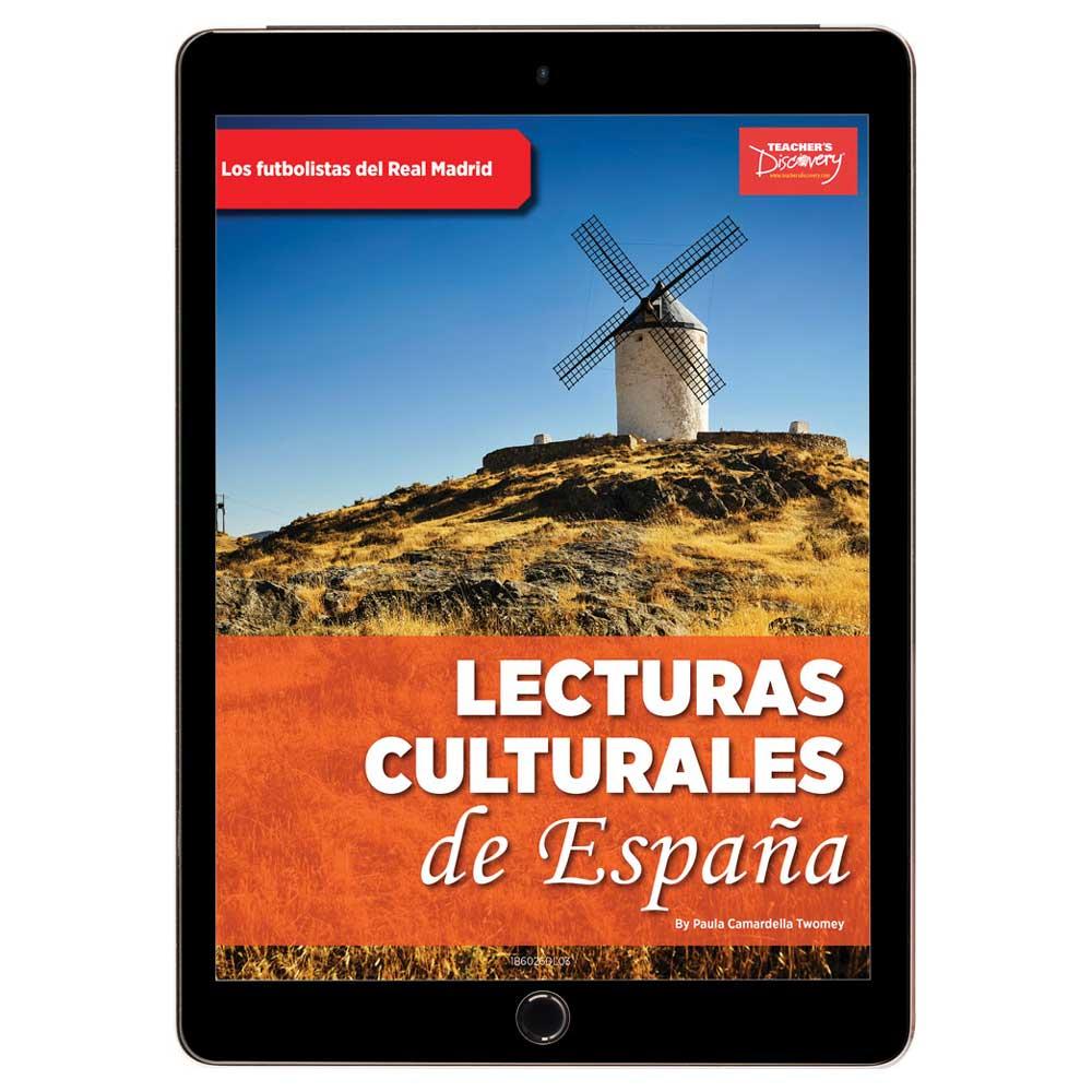 Lecturas culturales de España: Los futbolistas del Real Madrid Book Excerpt Download