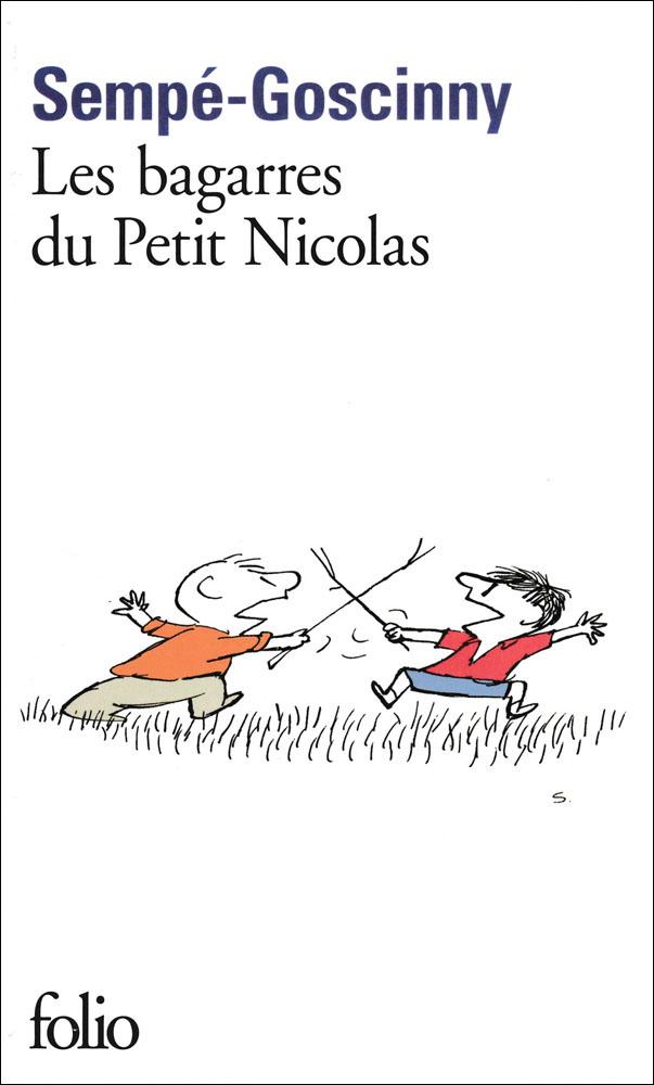 Les bagarres du petit Nicolas French Book