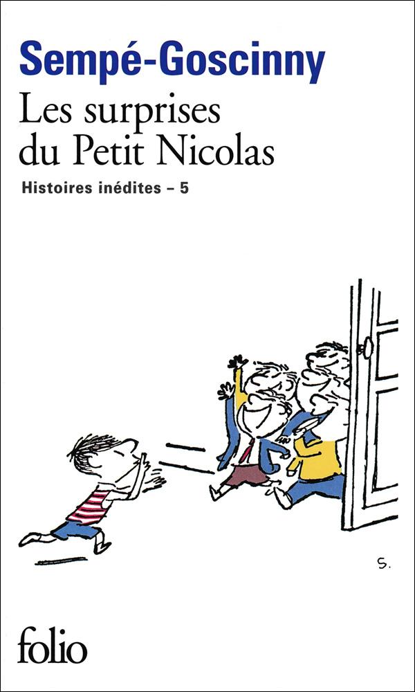 Les surprises du petit Nicolas French Book