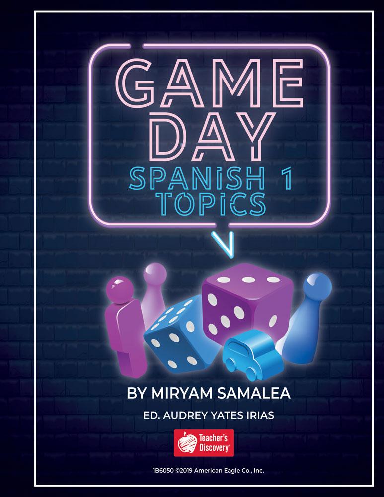 Game Day Spanish 1 Topics Book