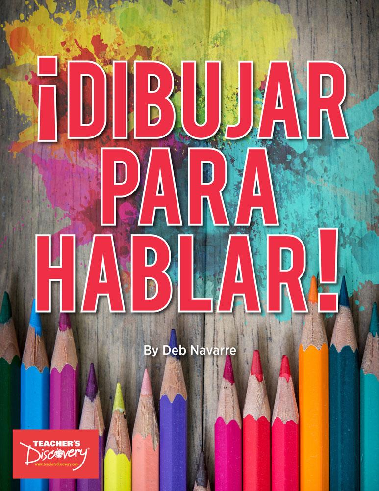 ¡Dibujar para hablar! Spanish Book