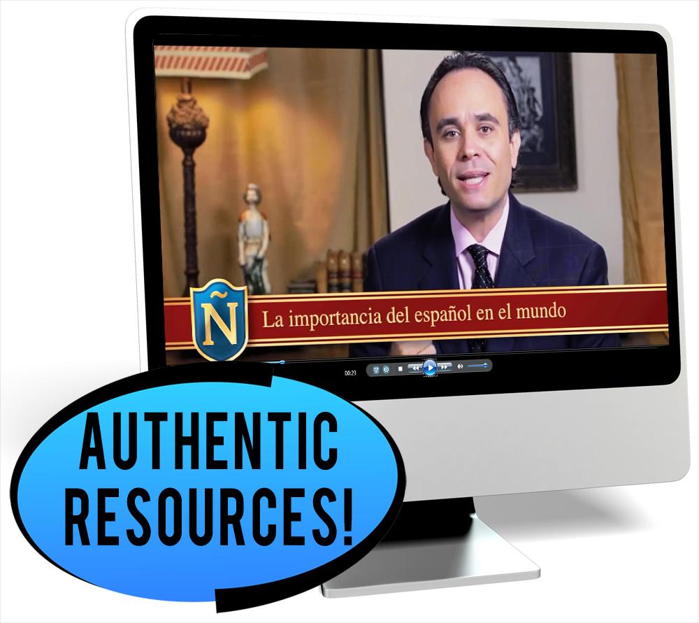 El idioma español Novice-Low Spanish IPA Pack - DIGITAL RESOURCE DOWNLOAD  - Hybrid Learning Resource