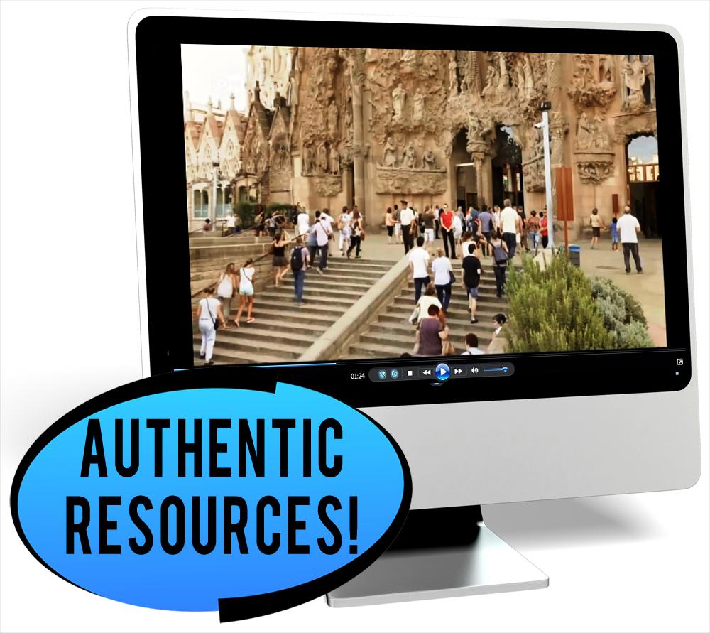 Antoni Gaudí Novice-High Spanish IPA Pack - DIGITAL RESOURCE DOWNLOAD