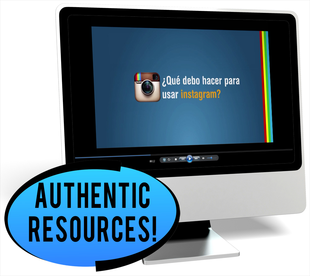 Las redes sociales Novice-Mid Spanish IPA Pack - DIGITAL RESOURCE DOWNLOAD  - Hybrid Learning Resource