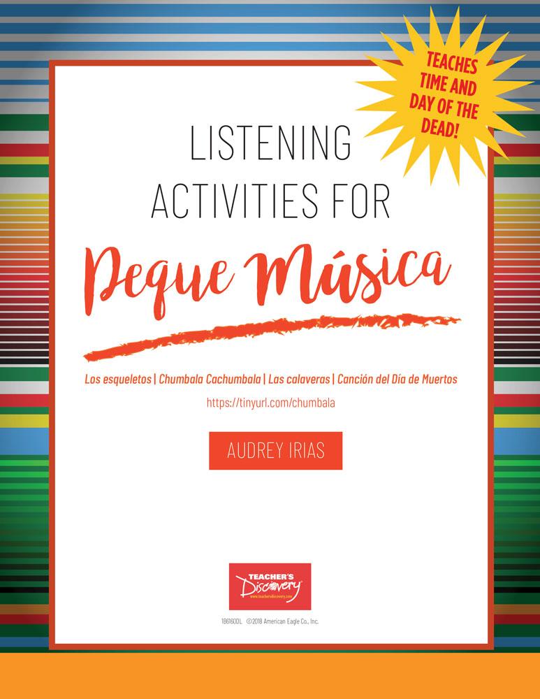 Los esqueletos/Chumbala Cachumbala/Las Calaveras Song (Peque Música) Listening Activities Download