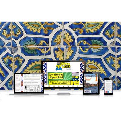 Voces® Nuestra historia 1 Digital Resource Subscription