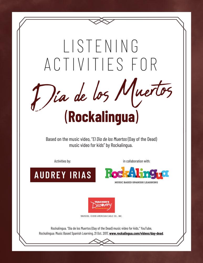 Día de los Muertos (Rockalingua) Listening Activities Download