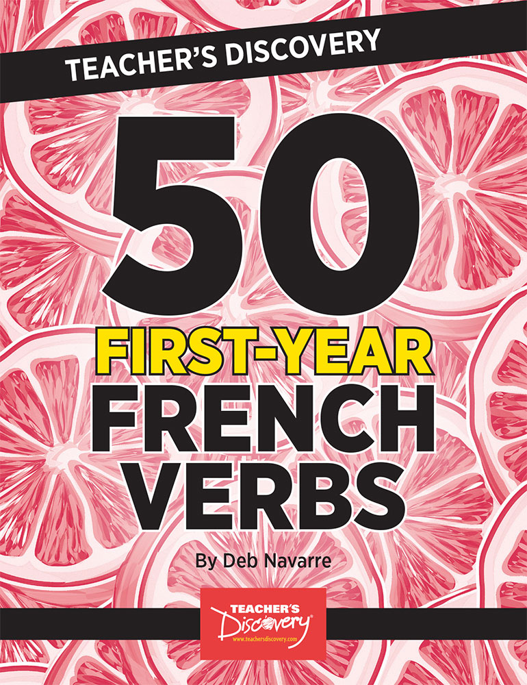 50 First-Year French Verbs Book