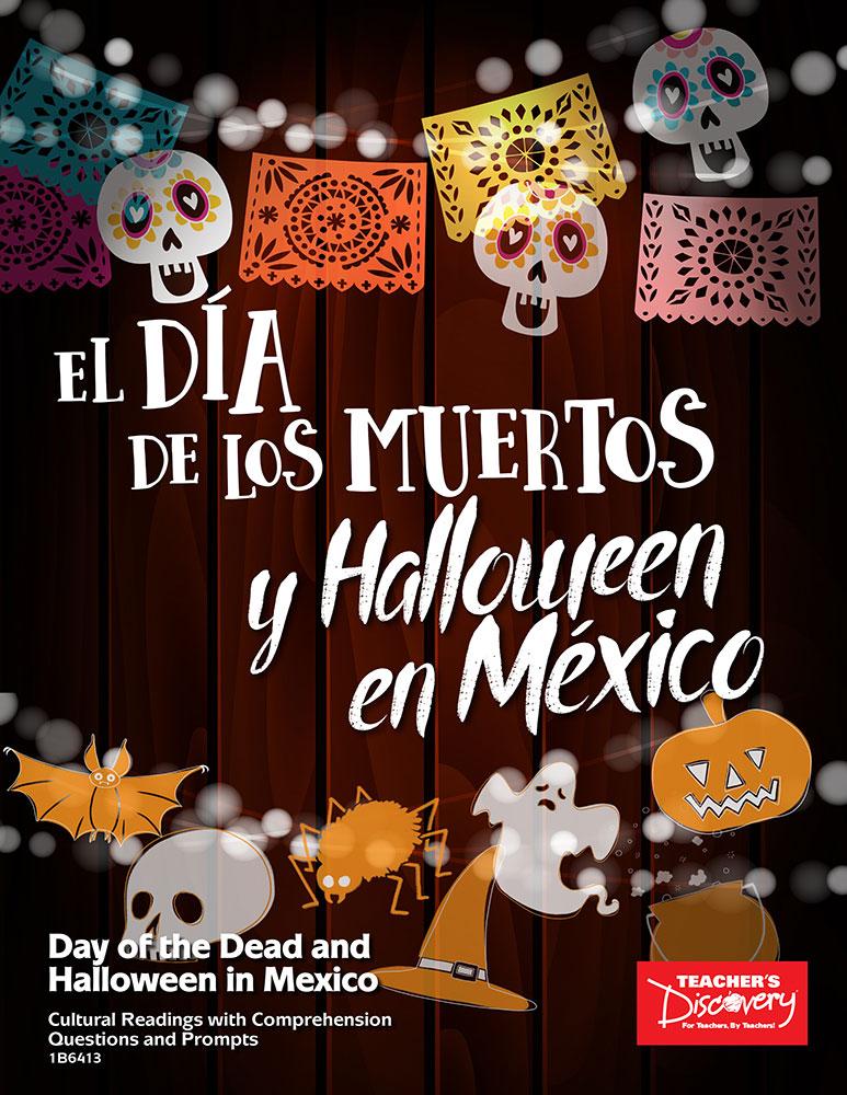 El Día de los Muertos y Halloween en México Activity Packet Download