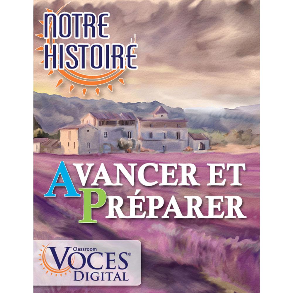 Voces® Notre histoire: Avancer et préparer Digital Resource Subscription
