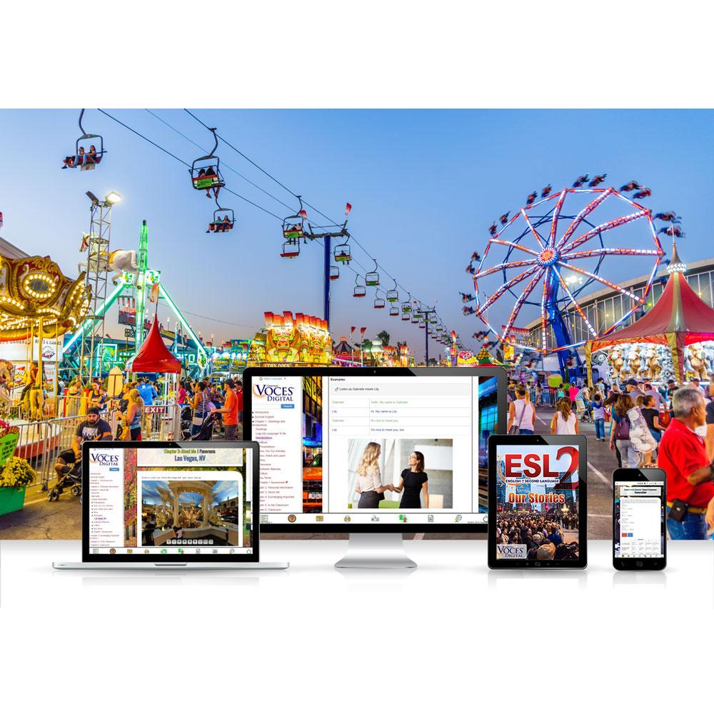 Voces® ESL 2: Our Stories Digital Resource Subscription