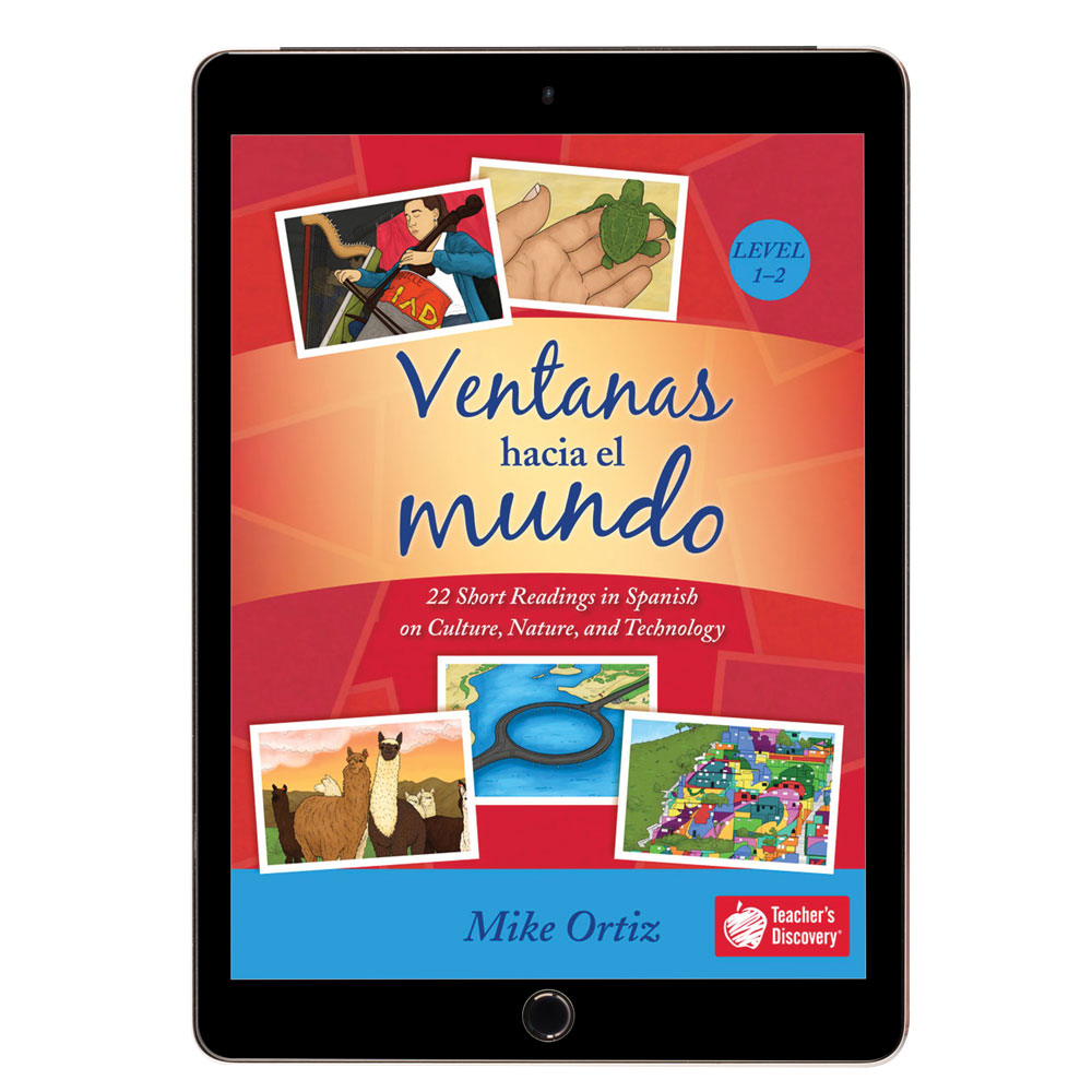 Ventanas hacia el mundo Spanish Level 1–2 Reader