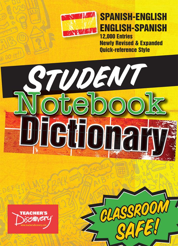 Spanish Student Notebook Dictionary