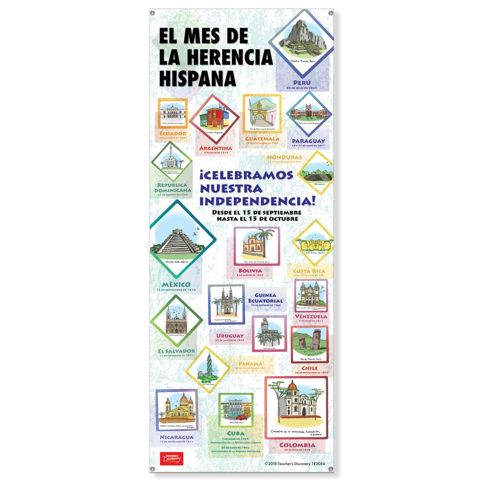 Hispanic Heritage Month Banner