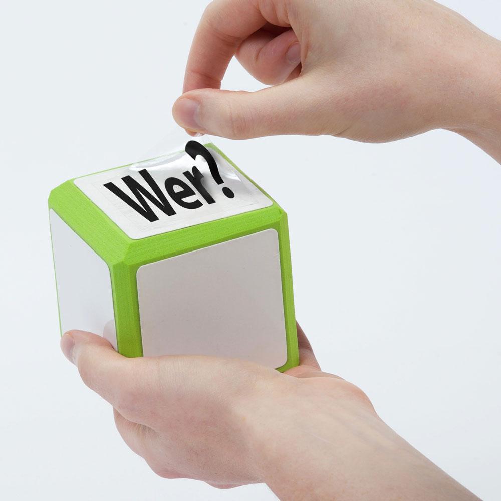 Cool Cubes™ Sentence Starter German Clings