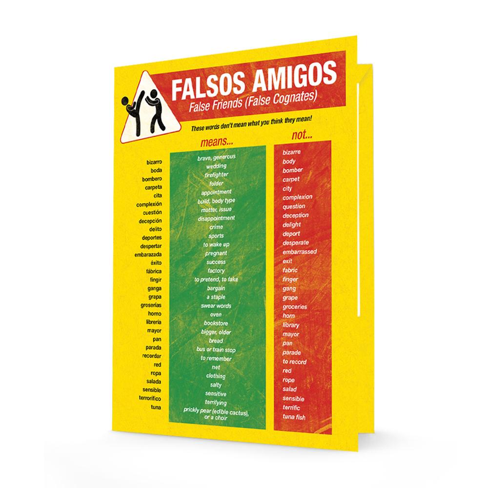 Cognates Spanish Folder