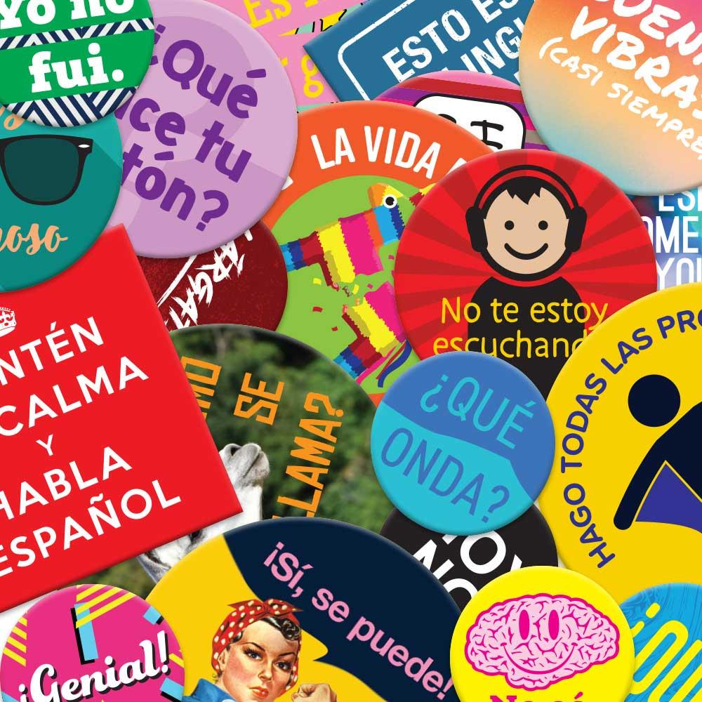 Fashion Button Collection Spanish