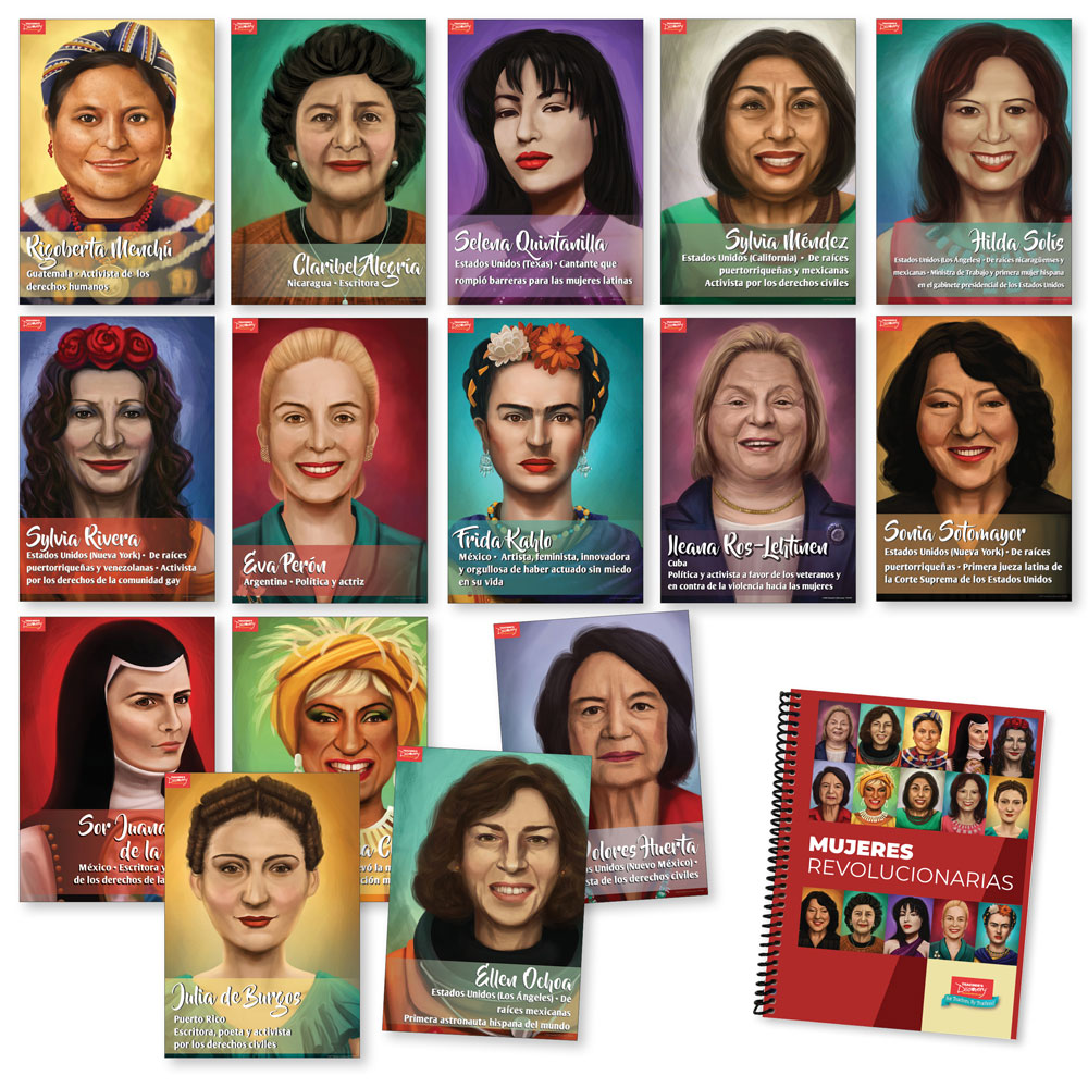 Mujeres revolucionarias Print Bundle