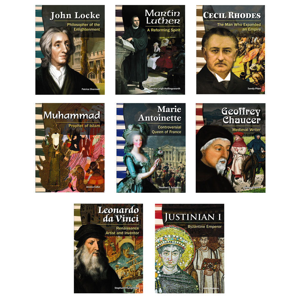 World History Primary Source Readers - Set of 8