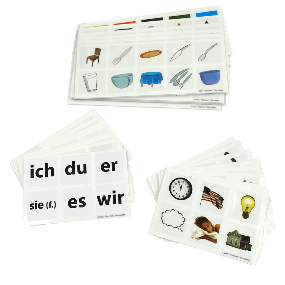 Cool Cubes™ German Clings Set