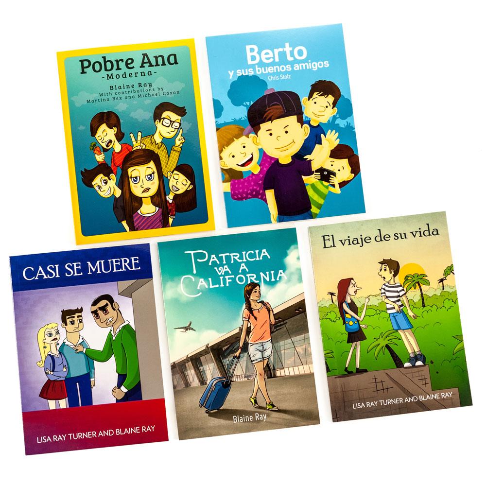 TPRS Books/Blaine Ray Spanish Level 1 FVR Library Bundle